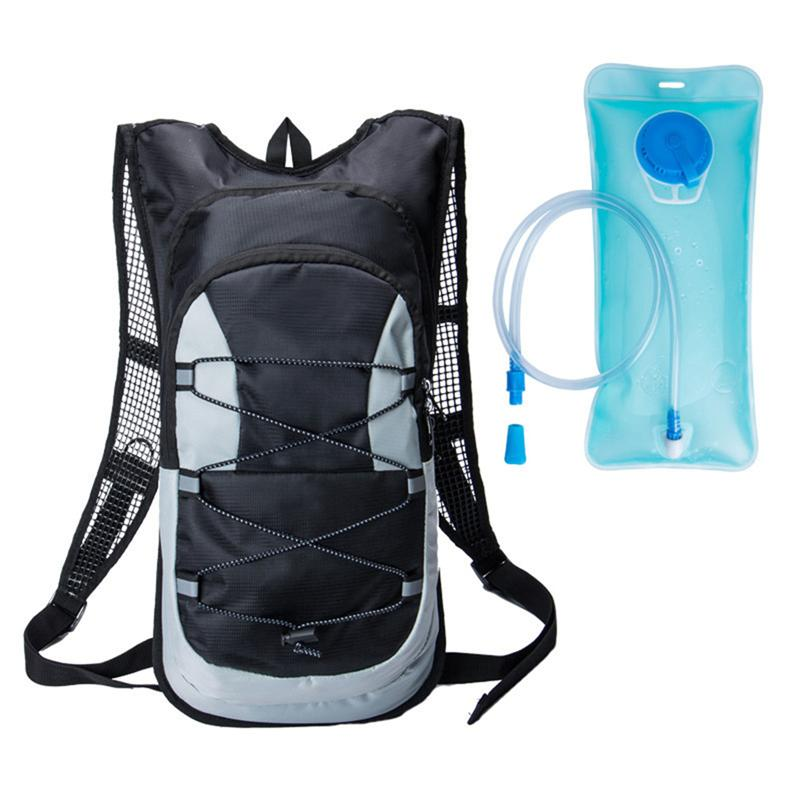 Nice Travel Backpack Hydration Rucksack Bag Bladder Bag Cycling Bicycle Bike/hiking Climbing Pouch + 2l Hydration Bladder (black) To Win Warm Praise From Customers