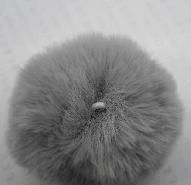 Baru Bulu Imitasi Suruh Keputusan Pengaruh 8 Cm dengan Band Pompom Perhiasan Liontin Tas Rantai Tirai Rumbai untuk Topi Pakaian Suruh Keputusan Pengaruh 20 Warna