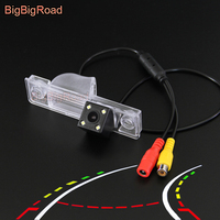BigBigRoad Car Intelligent Dynamic Trajectory Tracks Rear View Camera For Roewe 350 / MG GT 350 2010 2011 2012 2013 2014 2016