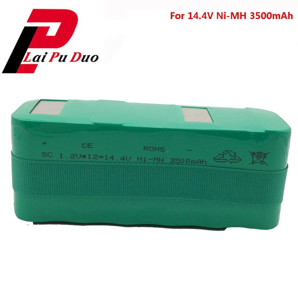 Batterie rechargeable pour aspirateur X1 X2 X3L KK-1 KK-2 KK-3 batteries 14.4 V NI-MH 3500 mAh aspirateur Batterie