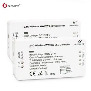Image 2 - Nhà Máy Giá Rẻ Gledopto WW/CW Điều Khiển Thông Minh ZigBee Hệ Thống Điều Khiển Không Dây Đèn LED Chiếu Sáng Điều Khiển 12 V 24 V RGB Mờ Công Tắc LED