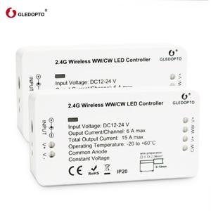 Image 2 - Prix usine g led opto WW/CW contrôle intelligent zigbee système contrôle sans fil led contrôleur déclairage 12v 24v rvb variateur LED