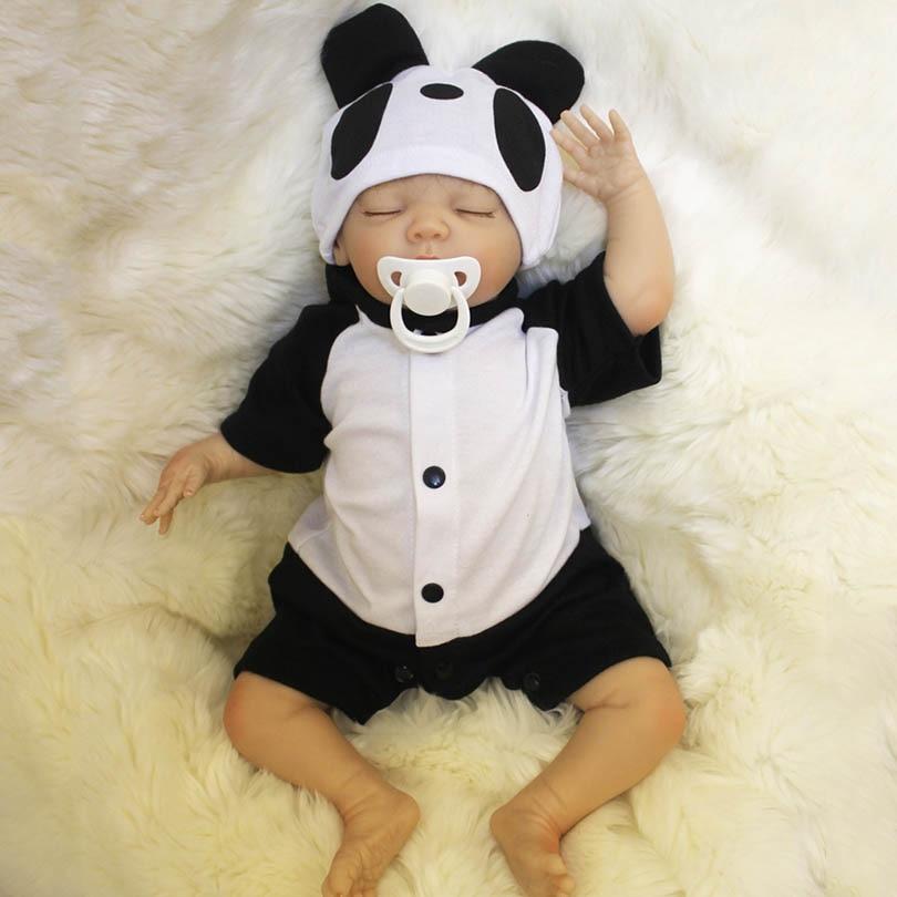 NPK Mary Boy Dolls Baby Fashion Reborn Babies  Lovely Cotton Body  Alive Silicone Baby Born Brinquedos New 2017