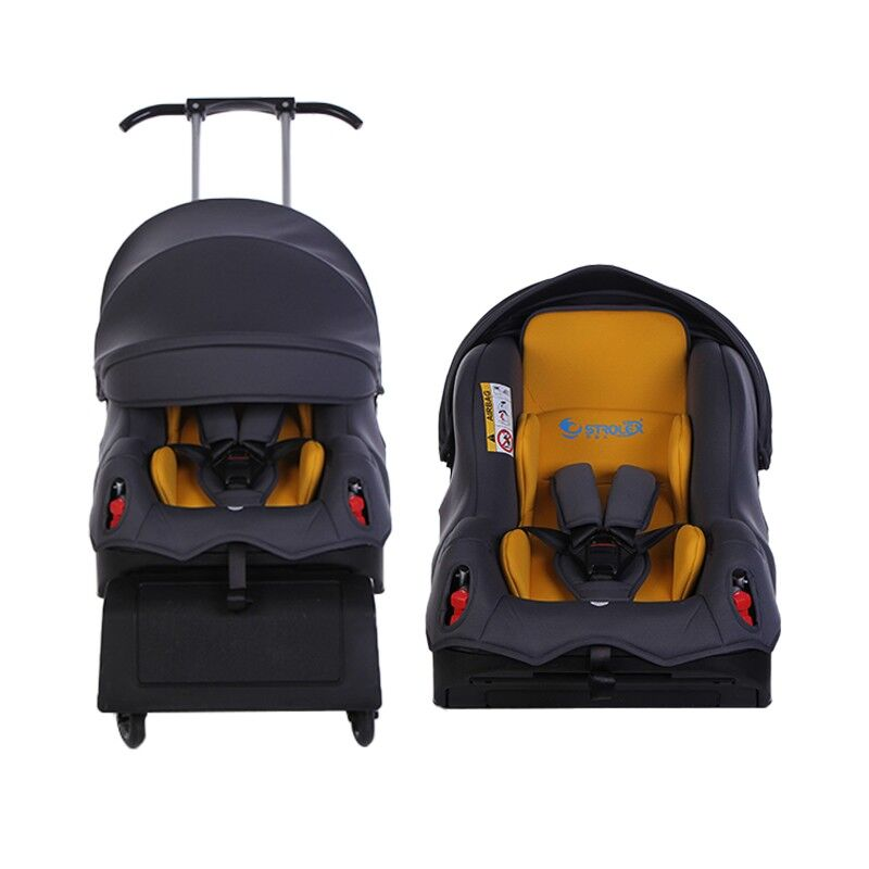 5 In 1 Multifunctional ISOfix Child Car Safety Seat Baby Car Seat Stroller Travel Portable Safety Chair Baby Trolley 6M~12Y