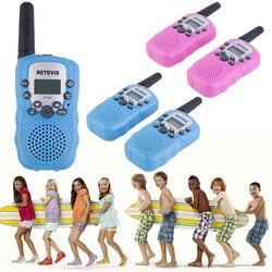 YKS 2 قطعة RT-388 يتحملها لعب للأطفال 0.5W 22CH اتجاهين الاطفال راديو الفتيان والفتيات Brithday عيد الميلاد هدية