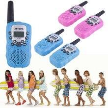 YKS 2 pcs RT 388 Walkie Talkie Toys For Children 0 5W 22CH Two Way Kids