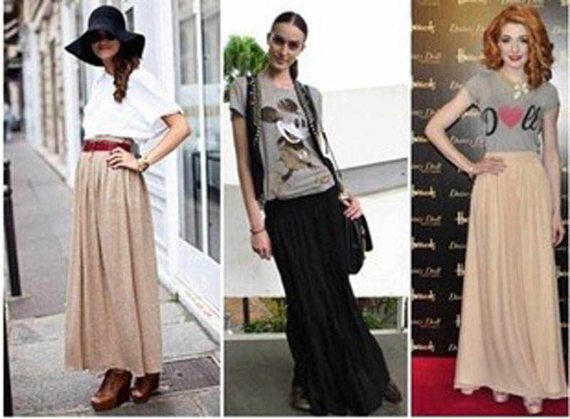 a82ddbb254762 New Brand Fashion Designer Sexy Style Skirt Women Sexy Chiffon Candy Color  Long Skirt High Quality Nice designs Hot selling
