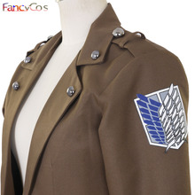 Attack on Titan Cosplay Costume Jacket Unisex