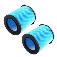 New 2pcs Vacuum Sweeper Kit Filters For Ridgid WD1450 WD0970 VF5000 Wet Dry Filter Vacuum Accessories