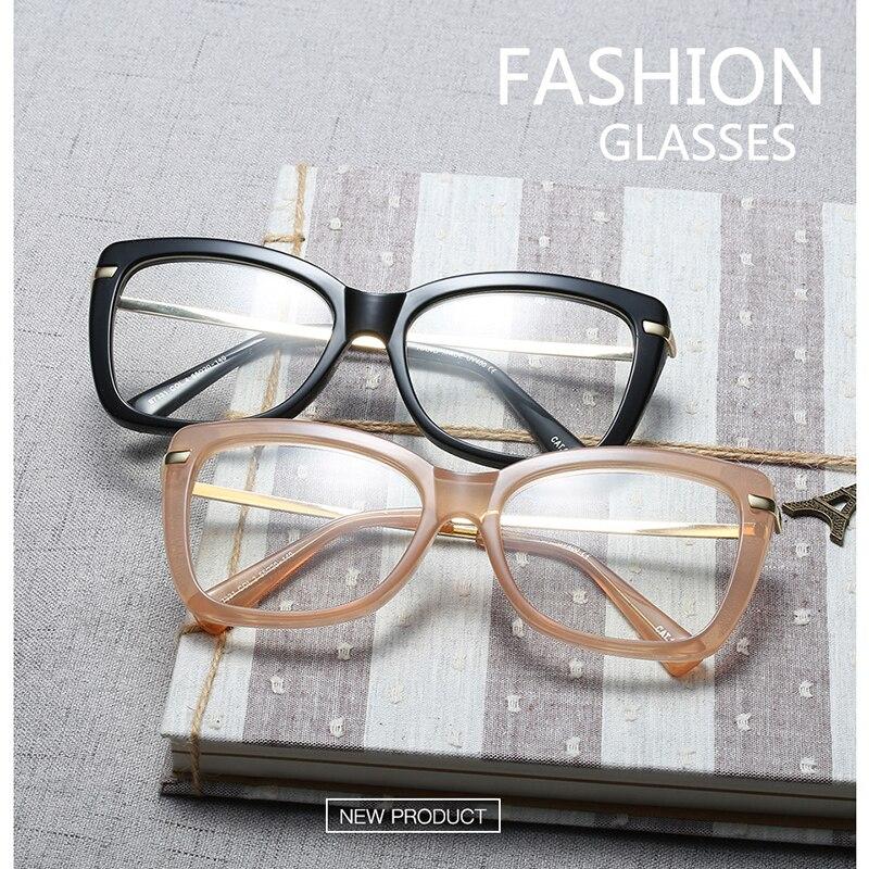 Spectacle Frame Women Eyeglasses Computer Myopia Optical For Female Vintage Ladies Eyewear Clear Lens Glasses Frame RS467