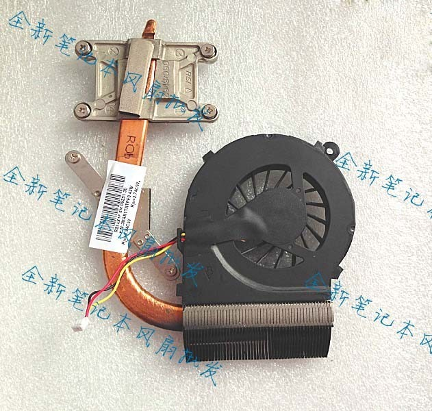 New cooler 595833-001 610842-001 617646-001 597786-001 for HP G42 G62 CQ42 CQ62 laptop cooling heatsink with fan radiator