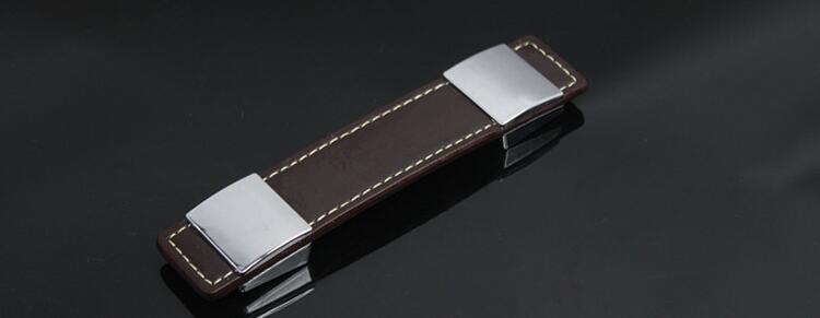 96mm cuoio cabinet maniglie e pomelli per mobili maniglie - Maniglie e pomelli per mobili ...