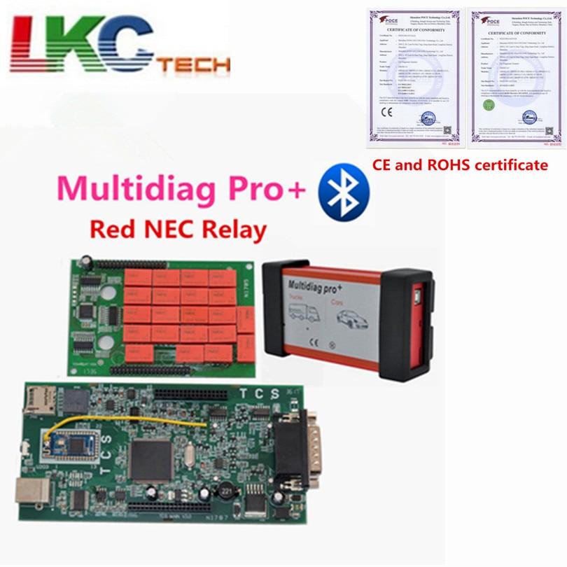 Date TCS CDP Multidiag Pro avec rouge NEC Relais Date 2016.00 Nouvelle Version Multidiag Pro + Auto Diagnotic Outils D'analyse