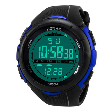 Digital Watch Men Women Relogio Sport Luxury Analog Digital Military Army Sports LED Waterproof Wrist Watch 2018