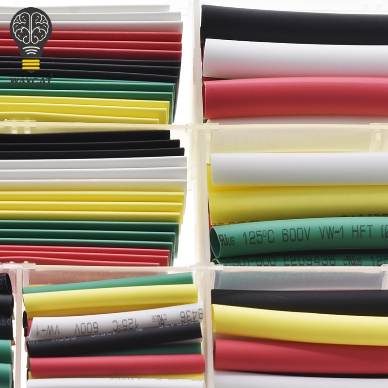 Top SaleWire-Cable-Kit Heat-Shrinkable-Tube Sleeving-Wrap Tubing WAVGAT 10mm 5mm 4mm 3mm 2mm±
