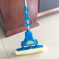ทำความสะอาดแปรงฟองน้ำMopsทำความสะอาดพื้นไม้ถูพื้นพับดูดซับบีบน้ำมายากลซับครัว