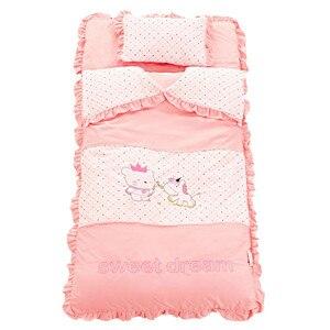 Image 1 - Jesienno zimowy komplet pościeli dziecięcej nowonarodzona pościel do łóżeczka bawełniana zagęścić kołdra dziecięca dziecięca śpiwór dla dziecka w wieku 0 4 lat