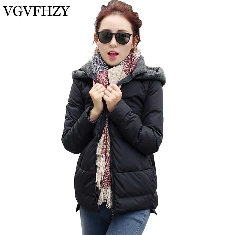 2017 Women Winter Jacket Hooded Down Jacket 90% Thicken Loose Cloak White Duck Down Coat Women Short Warm Coat LY597