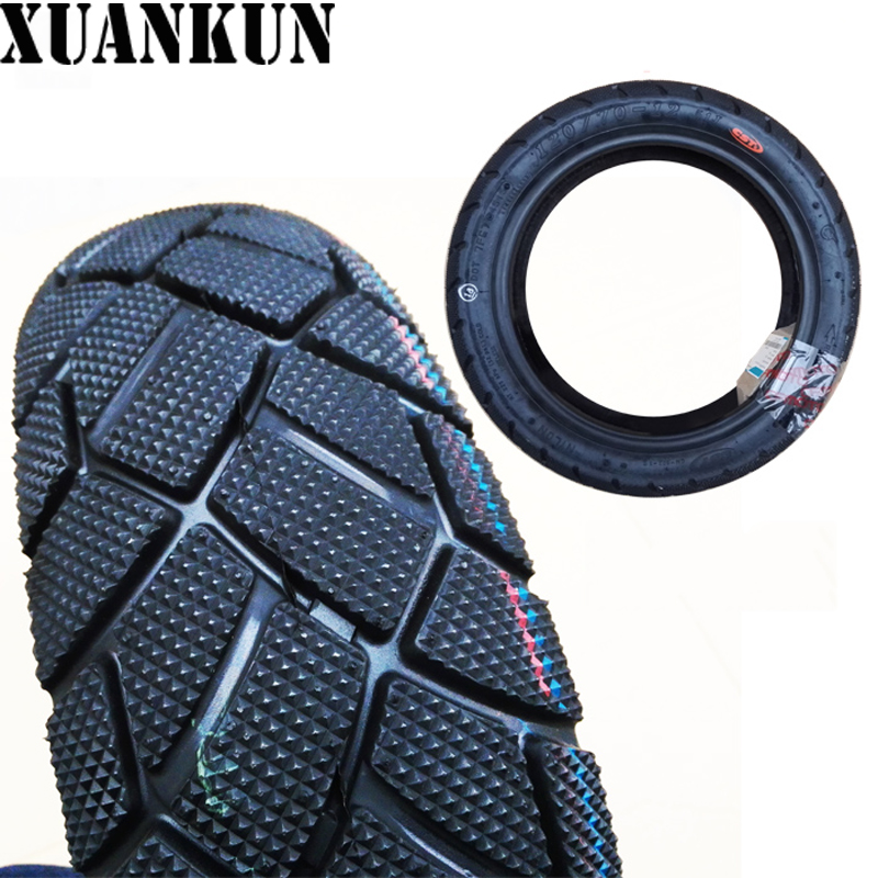 XUANKUN Motorcycle Tire CF125 Off-road Tire Tire 120/70/12 CFMOTO image