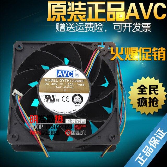 12038 48 V 1.80A 12 CM Y065 DYTH1238B8F ventilador industrial