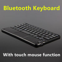 Lenovo TAB Için Bluetooth Klavye S8 Yoga Tab 3 8 Tablet PC Yoga Tablet 2 8 7 Kablosuz klavye Android Windows Dokunmatik Pad Vaka