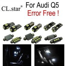 19 шт. canbus error free светодиодные лампы внутреннего освещения свет комплект посылка для Audi Q5(2009