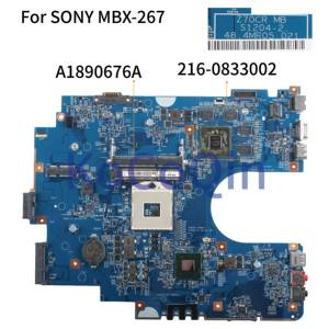 KoCoQin Laptop motherboard For SONY Sve17 Sve1711 MBX-267 Mainboard Z70CR S1204-2 A1890676A 48.4MR05.021 HM70 216-0833002(China)