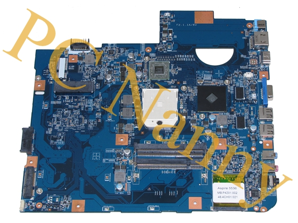 FOR ACER ASPIRE 5536 JV50-PU mbp4201002 48.4CH01.021 MOTHERBOARD AMD CPU NON-INTEGRATED