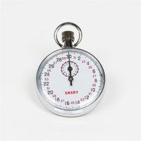 Mechanical Stop Watch Digital Sports Chronograph Running Timer Handheld Stopwatch With case