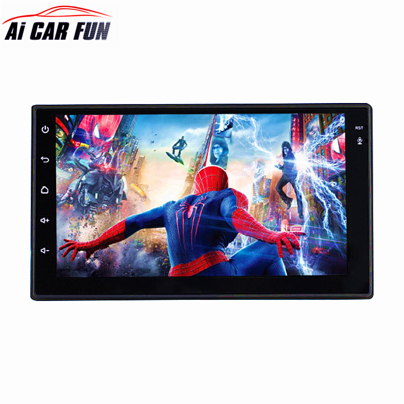 Universal Android 6.0 System 2 Din 7 inch Touch Screen Car MP5 Player Car GPS Navigator Multimedia USB WIFI Audio Video Player ultra thin 7 touch screen lcd wince 6 0 gps navigator w fm internal 4gb america map light blue