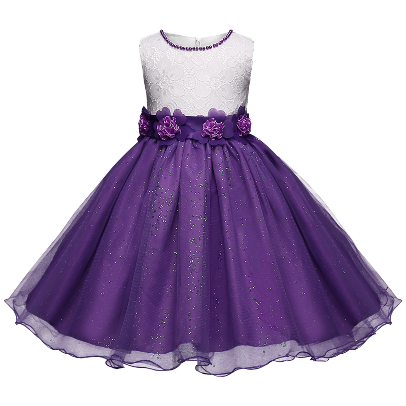 Summer flower girl dress tulle wedding dresses for teen for 10 year old dresses for weddings