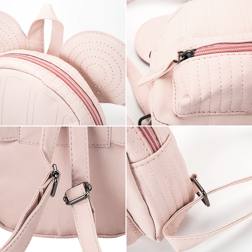 mini bag travel cute bag with Mickey ears fashion Female leather backpack  women small backpacks school men bags for girl-in School Bags from Luggage    Bags ... af7eb9526d50a