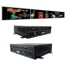 1×4 видеостена процессор для видео стены отображает VGA, HDMI, dvi вход USB выход HDMI
