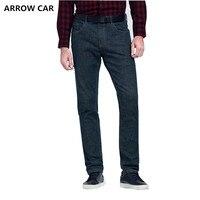 Стрелка автомобиль Мужская мода повседневные джинсы молодежи Бизнес классический дикий прямые 2018 осень и Новинка зимы джинсы брюки Для муж