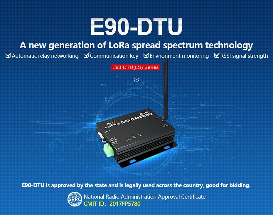 E90-DTU LS LoRa Relay Transceiver (1)