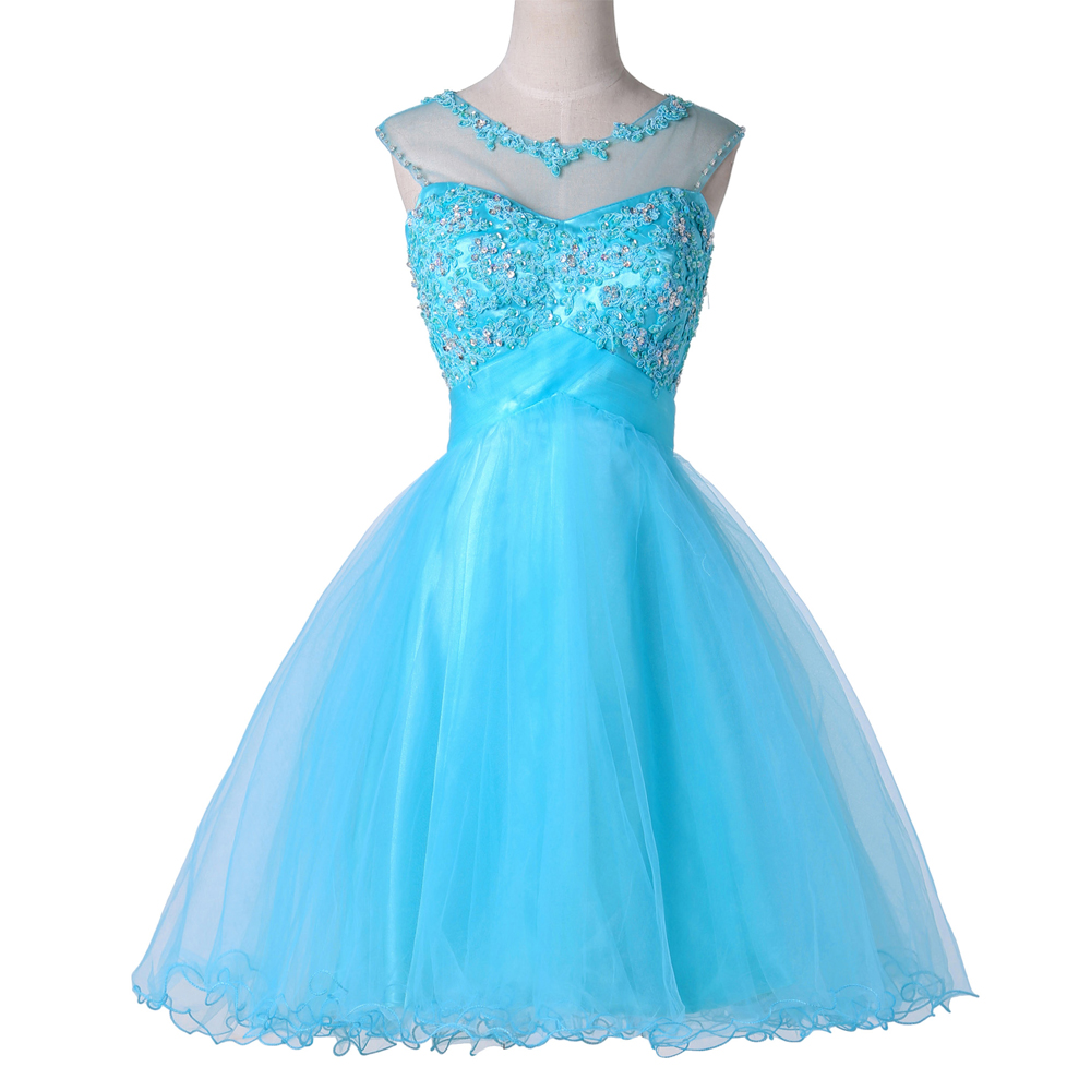 8th Grade Graduation Dress High School Girls Prom Short Homecoming ...