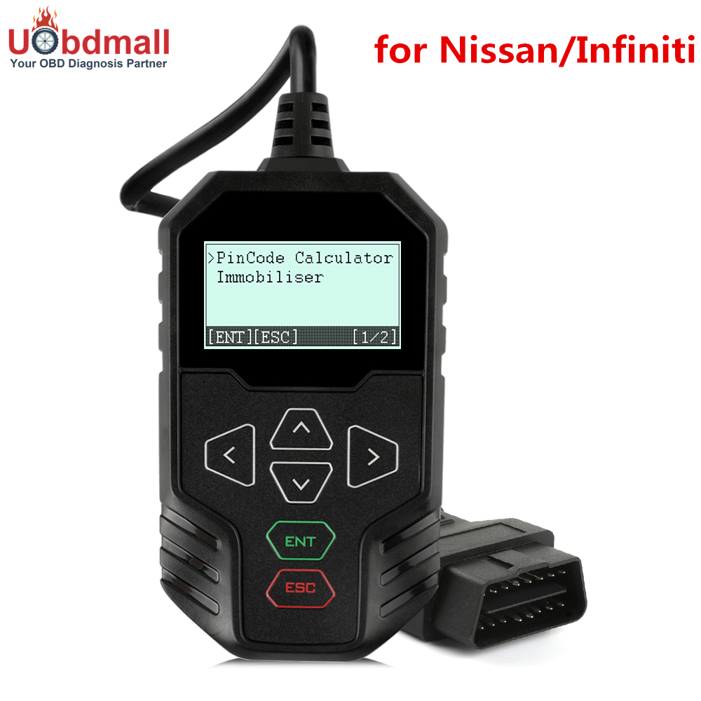 OBDPROG MT003 Auto Key Programmer for Nissan Infiniti with 4 digit and 20 digit Pin Code