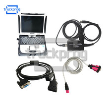 Forklift Diagnostic Scanner For Linde USB Cable for Canbox Doctor LINDE LSG with CF19 diagnostic Laptop