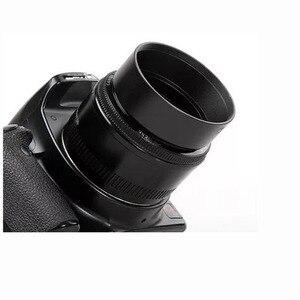 Image 2 - 49mm סטנדרטי טלה רחב זווית מעוקל פורק מתכת עדשת הוד ערכת סט 4pcs משלוח חינם