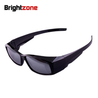 Outdoor Sport Sunglasses Polarized Lens Cover Fit Over Sun Glasses Wear Over Myopia For Outdoor Racing