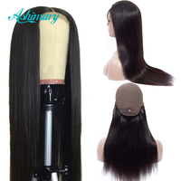 Ashimary Lace Front Human Hair Wigs 4x4 Closure Lace Wigs Remy Brazilian Hair Wigs Straight Lace Front Wig with Baby Hair