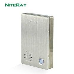 المنزل نظام ip الداخلي/باب التحكم في الوصول الهاتف الداخلي مع تصميم مقاوم للماء
