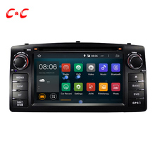 Actualizado Android 5.1.1 Quad Core para BYD F3 Toyota Corolla E120 2003-2006 Car DVD de navegación GPS con la Radio Wifi BT espejo enlace