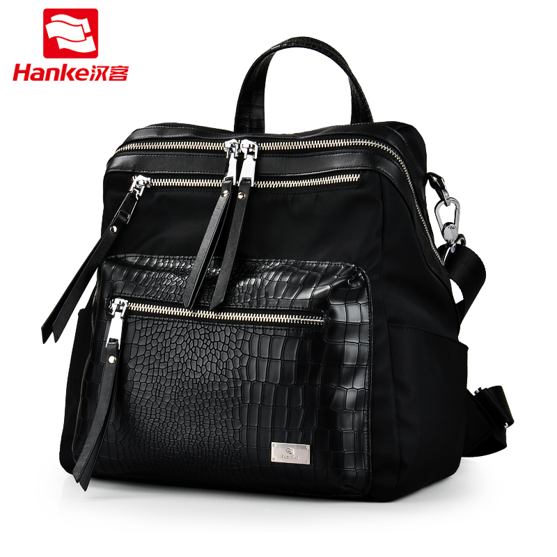 3 in 1 Fashion Women Backpack Shoulder Cross body Bags Hand bag Travel School Bag Nylon  ...