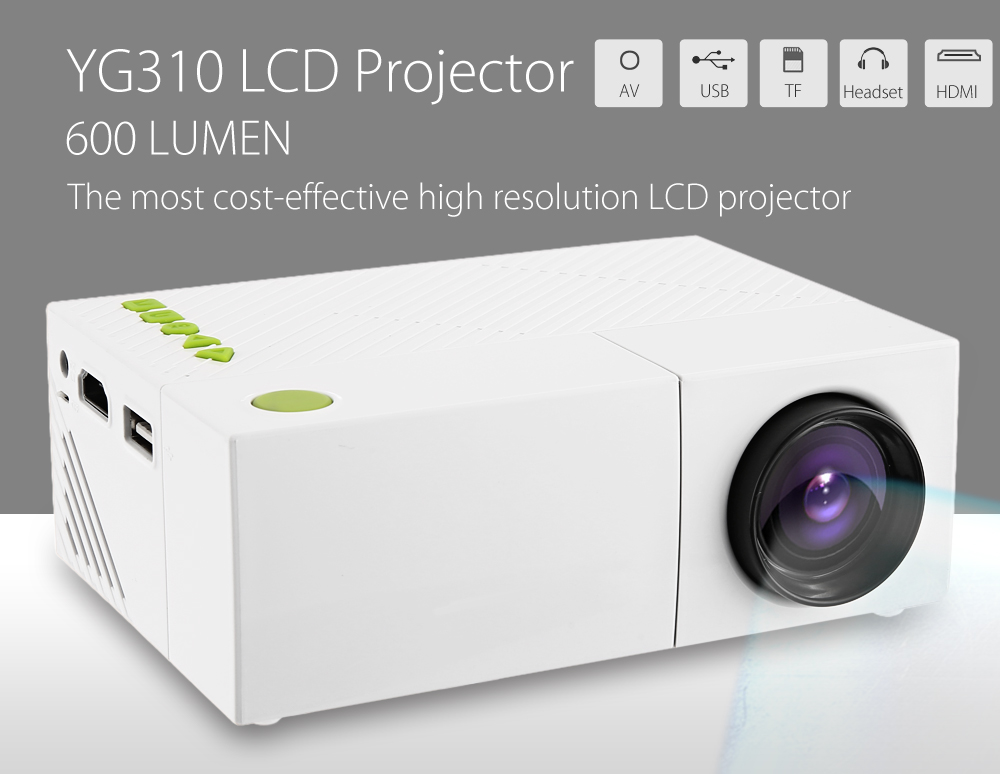 YG310 LCD LED Projector (7)