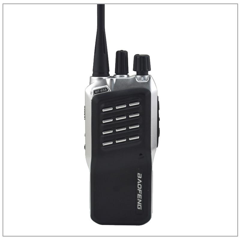 2 pcs/Lot baofeng BF-658 UHF 400-470 MHz émetteur-récepteur radio bidirectionnel Portable Baofeng talkie-walkie avec écouteur gratuit Amateur de jambon