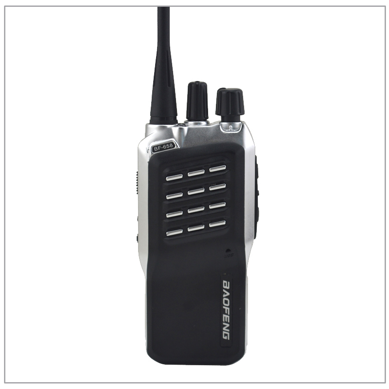 2pcs/Lot Baofeng BF-658 UHF 400-470MHz Portable Two-way Radio Transceiver Baofeng Walkie-Talkie With Free Earpiece Ham Amateur