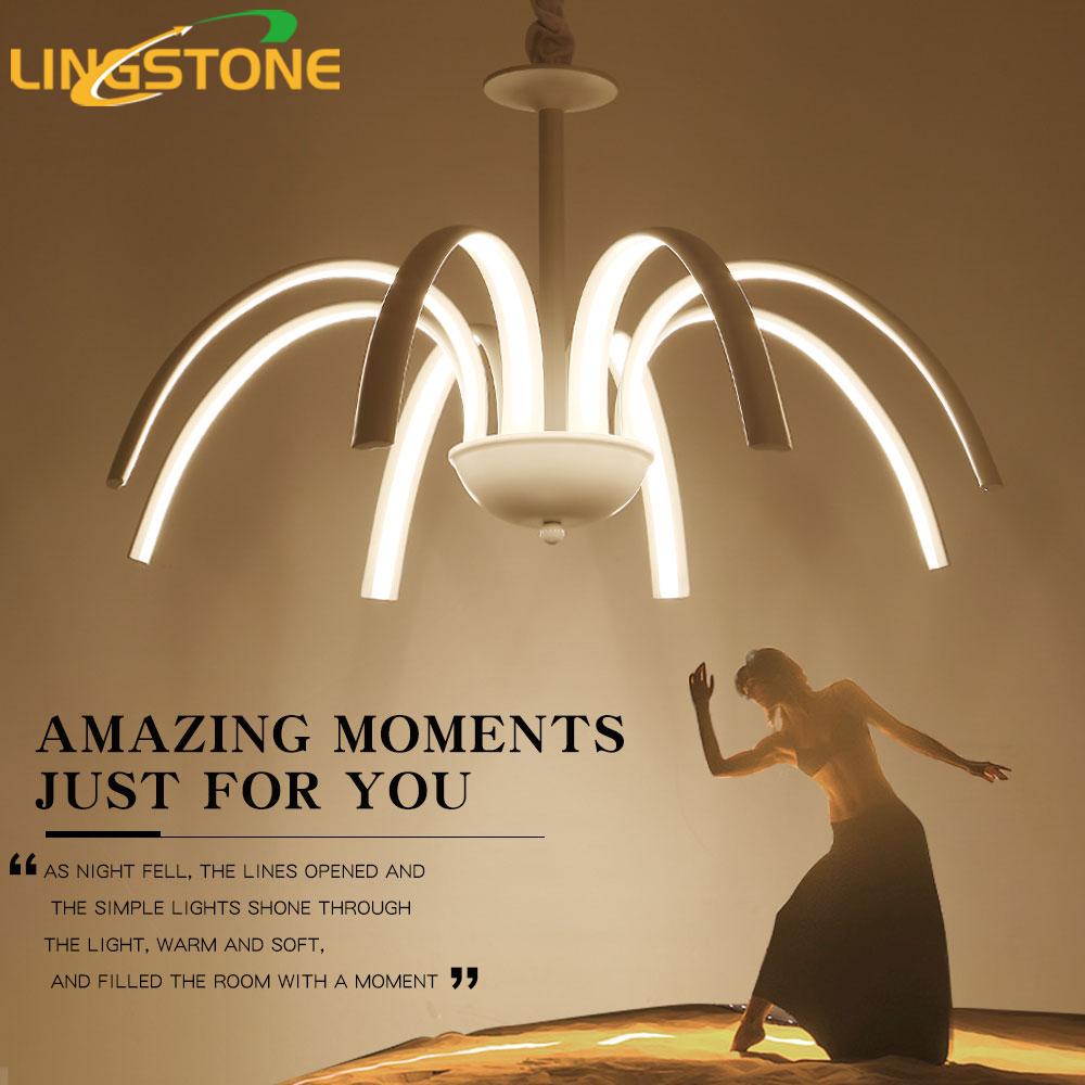 Pendant Lights Led Hanging Lamp Modern Fixture Hanglamp White Ceiling Plate Lighting Living Room Bedroom Study Restaurant Cafe black or white rectangle living room bedroom modern led ceiling lights white color square rings study room ceiling lamp fixtures