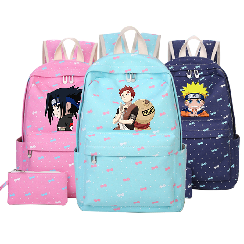 Uzumaki Naruto Backpack Japan AnimeSchool Bag for girls boys Teenagers Cartoon kids travel Uchiha Sasuke Uchiha Itachi Anime кошки мышки комплект детского постельного белья ути