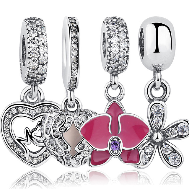 Variety of Cute Sterling Silver Charms